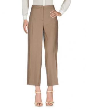 Повседневные брюки SEVENTY SERGIO TEGON. Цвет: коричневый