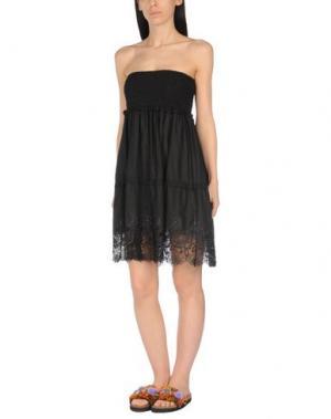 Пляжное платье MISS NAORY. Цвет: черный