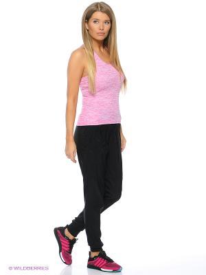 Майка SN FITTED TNK W Adidas. Цвет: розовый