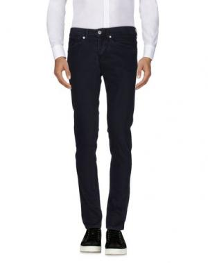 Повседневные брюки DONDUP. Цвет: темно-синий