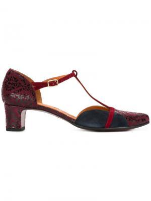 Туфли с ремешком на щиколотке Chie Mihara. Цвет: красный