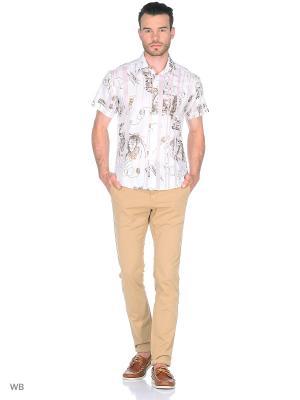 Рубашка AMATO. Цвет: белый