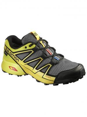 Кроссовки SHOES SPEEDCROSS VARIO GTX CLD/GECKO GR SALOMON. Цвет: желтый, серый, черный