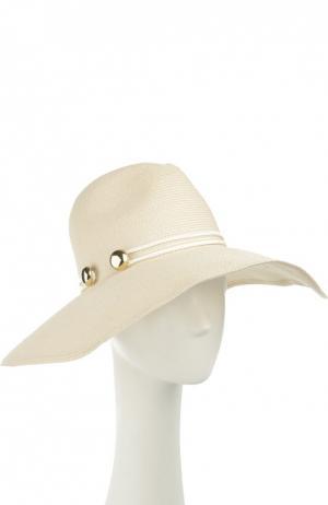 Шляпа Eugenia Kim. Цвет: белый