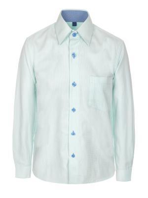 Рубашка Brostem. Цвет: салатовый