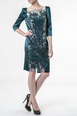 Платье Talbot & Runhof. Цвет: серебряный
