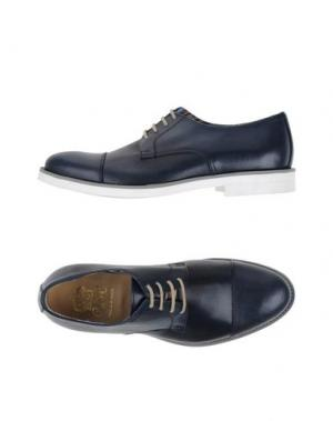 Обувь на шнурках VIA DEI CALZAIUOLI. Цвет: темно-синий