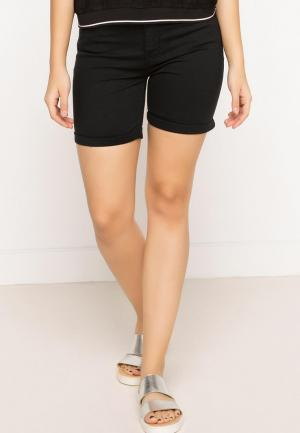 Шорты джинсовые DeFacto. Цвет: черный