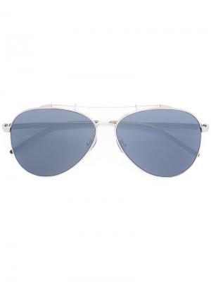 Солнцезащитные очки Combustion 7 Sama Eyewear. Цвет: металлический