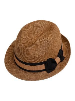 Шляпа Kameo-bis. Цвет: коричневый, черный