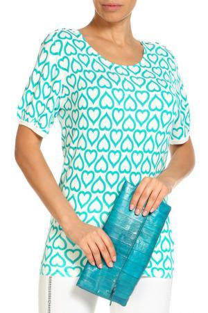 Пуловер LOLA PALTINGER. Цвет: голубой