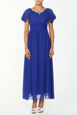 Платье NUDIE. Цвет: синий