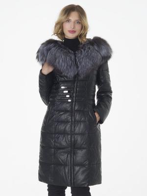 Стеганое пальто OSTRICH. Цвет: черный