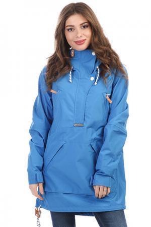 Анорак женский  Swedish Blue WearColour. Цвет: синий