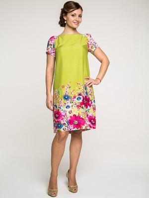 Платье AKIMBO. Цвет: оливковый, фуксия, синий