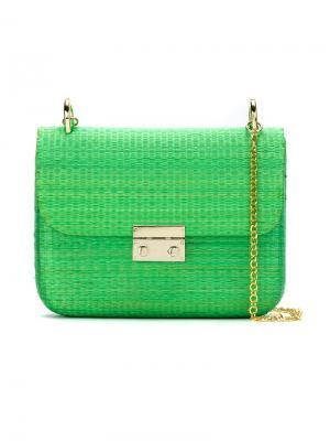 Shoulder bag Serpui. Цвет: зелёный