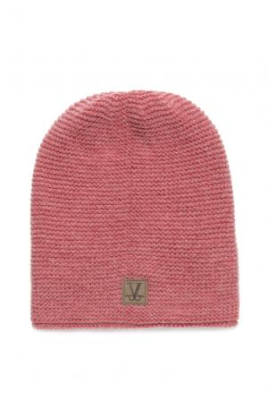 Шапка из шерсти 157000 Vilermo. Цвет: розовый