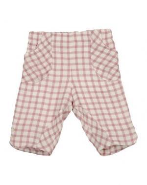 Повседневные брюки LA STUPENDERIA. Цвет: розовато-лиловый