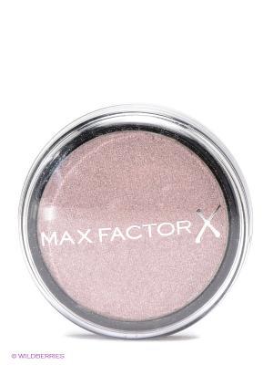 Тени одноцветные Wild Shadow Pots Eyeshadow 25 тон savage rose MAX FACTOR. Цвет: светло-коричневый