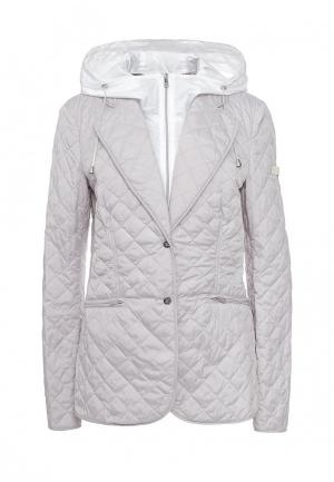 Куртка утепленная Husky. Цвет: серый