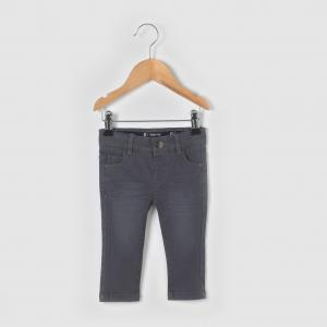 Брюки с 5 карманами, для от 1 месяца до 3 лет R essentiel. Цвет: экрю
