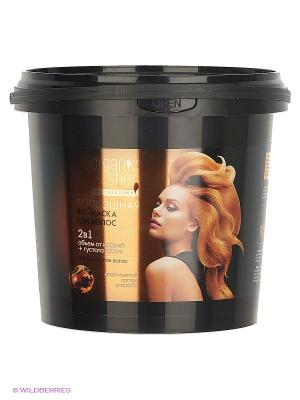 Маска-bio  роскошная для волос 1000мл Organic Shop. Цвет: черный