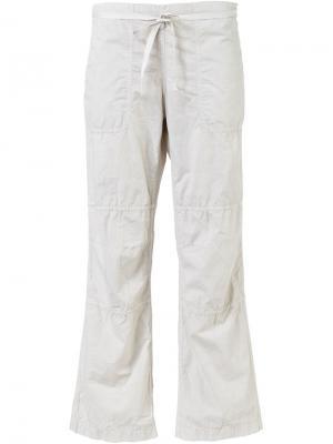 Укороченные брюки Dosa. Цвет: телесный