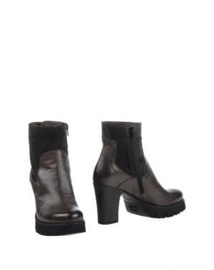 Полусапоги и высокие ботинки FRU.IT. Цвет: свинцово-серый