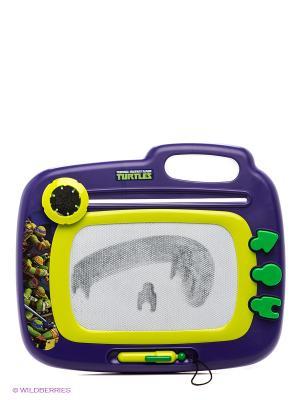 Доска магнитная Черепашки Ниндзя IMC toys. Цвет: фиолетовый, желтый