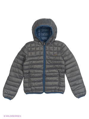 Куртка Sisley Young. Цвет: серый
