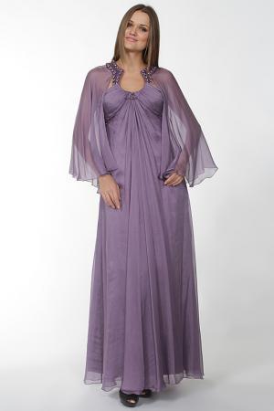 Платье Aeelis. Цвет: фиолетовый