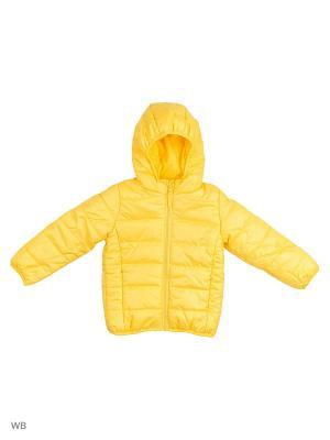 Куртка Modis. Цвет: желтый, золотистый
