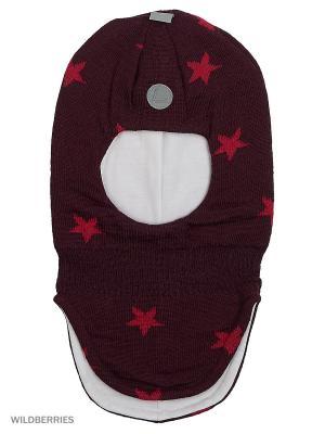 Шапка-шлем Luhta. Цвет: бордовый, розовый