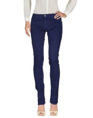 Повседневные брюки G750G. Цвет: синий