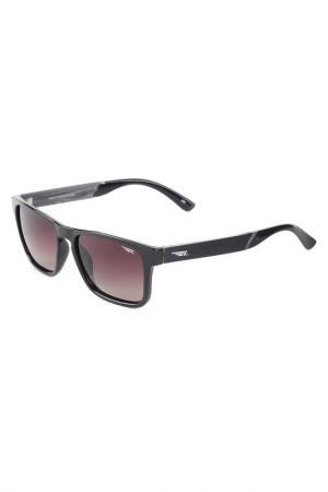 Солнцезащитные очки Legna. Цвет: темно-коричневый