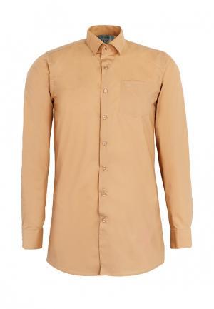Рубашка Stenser. Цвет: оранжевый