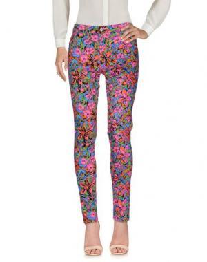 Повседневные брюки MOTEL. Цвет: фуксия