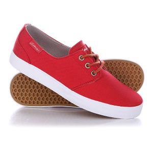 Кеды кроссовки низкие  Crip Prwh Pompeian Red/White Circa. Цвет: красный