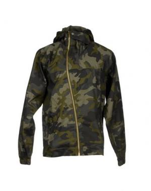 Куртка U CLOTHING. Цвет: зеленый-милитари