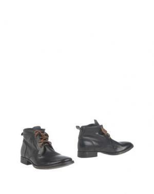 Полусапоги и высокие ботинки 01000010 by BOCCACCINI. Цвет: черный