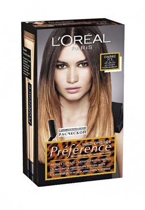 Краска для волос LOreal Paris L'Oreal. Цвет: коричневый