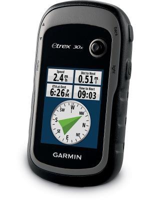Туристический навигатор eTrex 30x GPS GARMIN. Цвет: серый