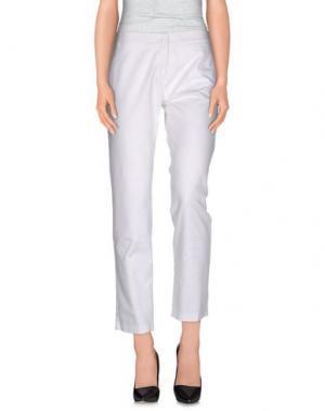 Повседневные брюки JEI O'. Цвет: белый