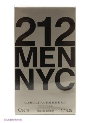 Carolina Herrera 212 Men М Товар Туалетная вода 50 мл. Цвет: прозрачный