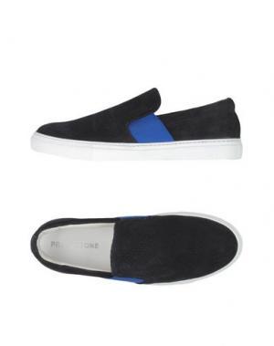 Низкие кеды и кроссовки PROJECT ONE. Цвет: темно-синий