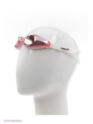 Очки для плавания EMDI. Цвет: розовый