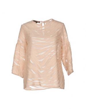 Блузка WALTER VOULAZ. Цвет: светло-розовый
