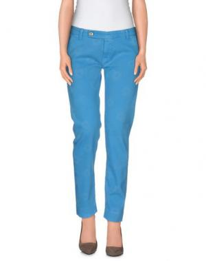 Повседневные брюки TRUE NYC.. Цвет: лазурный