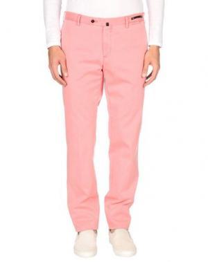 Повседневные брюки PT01. Цвет: розовый