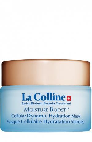 Увлажняющая маска для лица Cellular Dynamic Hydration Mask La Colline. Цвет: бесцветный